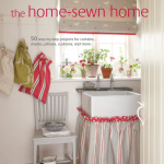 Cover of book The Home-sewn Home by Vanessa Arbuthnott with Gail Abbott.